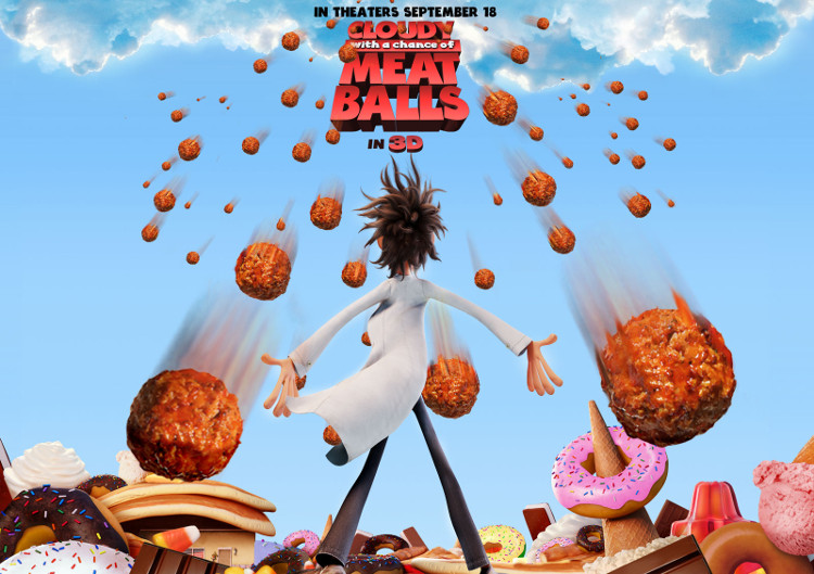 Phim Cloudy With a Chance of Meatballs.